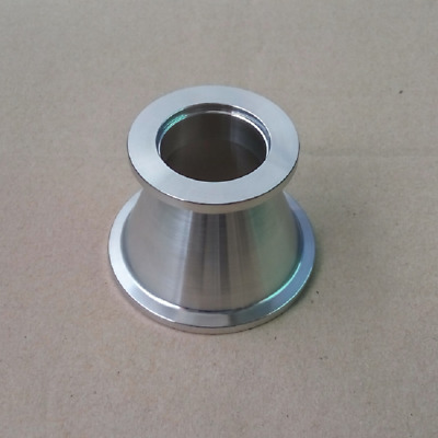 Stainless Steel 304 KF-40 to KF-25 Conical Reducer Vacuum Fitting Adapter