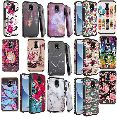 For Samsung Galaxy Express Prime 3 HARD Hybrid Rubber Silicone Cover Phone Case