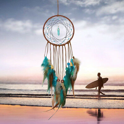 Handmade Dream Catcher Feathers Decoration For Car Wall Hanging Room Home Romant