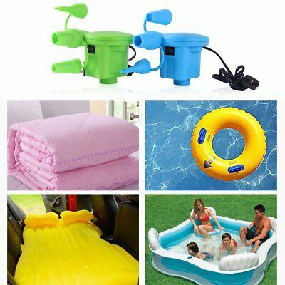 For Toys Air Bed Compression Bag Mattress AC Electric Air Pump Inflate Deflate