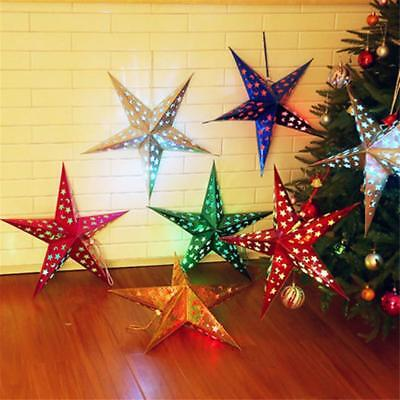 Star Paper Lantern Lampshade Wedding Party Xmas Pub Hanging Decor New