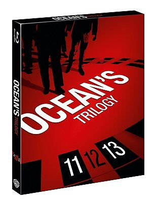 Ocean's Trilogy (3 Blu-Ray) WARNER HOME VIDEO