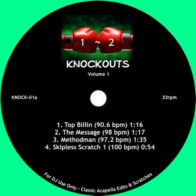"DJ Sausage Fingaz - Knockouts Volume 1 Vinyl 7"" NEU 0902554"