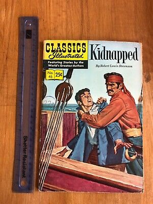 CLASSICS Illustrated Comic - Kidnapped (Robert Louis Stevenson) No.46