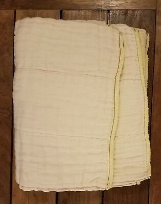 12 Osocozy prefolds size Regular Washed but never used