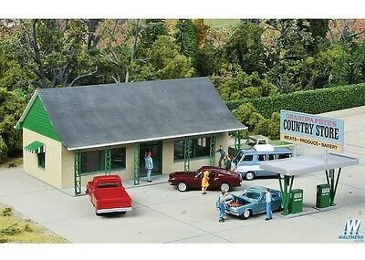 WalthersCornerstone 933-3491 HO Scale Country Store Building Kit