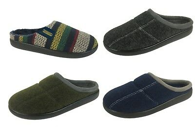Men's Boys Coolers EE Wide Fit Mule Slippers Sizes 7-11