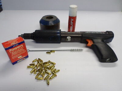 ITW Ramset Red Head MD380 Powder Acuated Tool with Shield, Tool Box & Extras