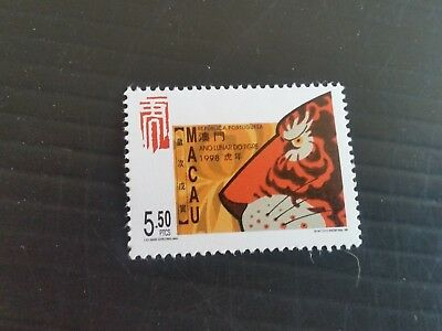Macao 1998 Sg 1021 Year Of The Tiger Mnh (M)