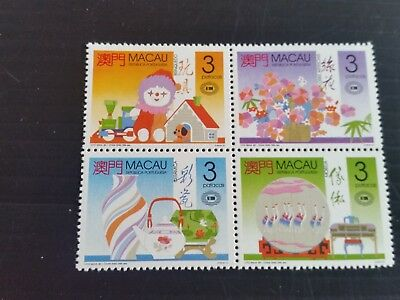 Macao 1990 Sg 723-726 New Zealand1990 Stamp Exn Mnh (M)