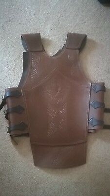 Celtic Horsemaster LARP Leather Armour