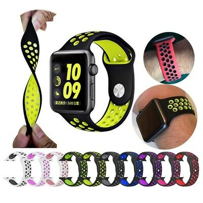 Replica Watch Straps For Apple Watch Nike Nike+ 1 2 3 4 38mm 42mm 40mm 44mm