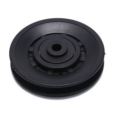1pc 90mm Black Bearing Pulley Wheel Cable Gym Equipment Part gym kit PRBR