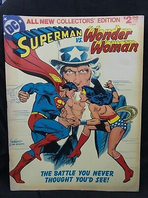 Superman vs Wonder Woman DC Treasury Edition #C-54 FN/VF 7.0  1978