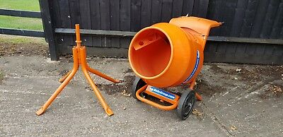 Belle Minimix 150 110v Mini Mix Cement Concrete Mixer Includes Stand