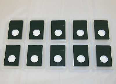 Supplies Lot of 10 Coin World Slab Holders 23.5 mm for Half Cents NO COINS