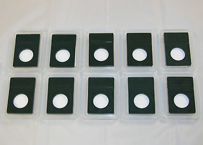 Supplies Lot of 10 Coin World Slab Holders 26.5 mm for Small Dollars NO COINS