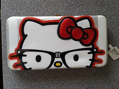 Loungefly x Hello Kitty Genius Long Wallet Metal Clasp NEW