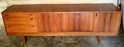 Alfred Cox Australian Walnut wooden Sideboard, lovely stylish mid century piece