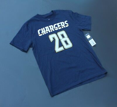 competitive price df642 fbeea MELVIN GORDON LA Chargers Jersey T Shirt Dark Blue Youth (NWT)