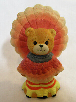 Lucy & Me ~ Turkey Gobble Gobble Thanksgiving ~ Figurine