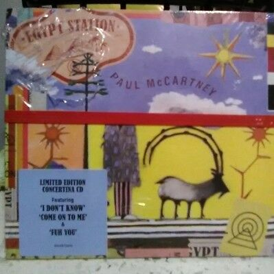 Paul McCartney EGYPT STATION Brand New Still Sealed CD Limited Edition