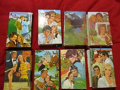 Vintage Romance Treasury 3 in 1 Novels Hardcover Books Various Authors Lot of 8
