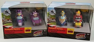 Disney Store Minnie Mickey Mouse Donald Daisy le Canard Roadster Coureurs