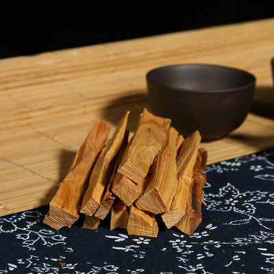 50g / Bag Sandalwood Wood Incense Sticks Irregular Resin Incense Pure Real 7CM