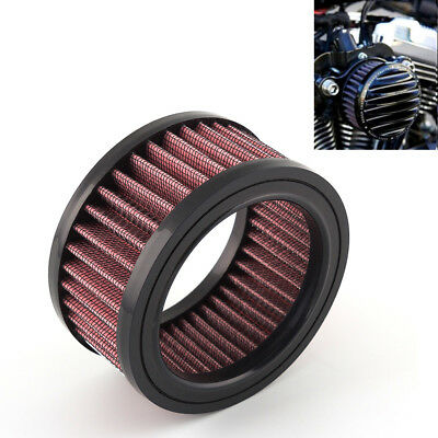 4'' Motorcycle Air Cleaner Intake Filter For Harley Sportster XL883 XL1200 X48