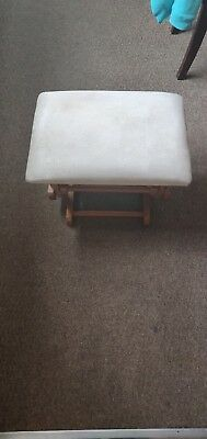 Rocking chair foot stool