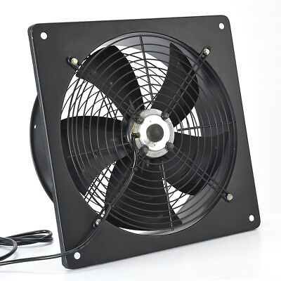 Commercial Extractor Industrial Ventilation Axial Exhaust Blower Flow Plate Fan