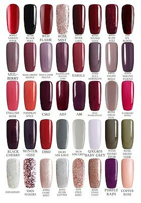 Bluesky MOST WANTED AUTUMN WINTER UV LED Soak Off Gel Nail Polish Free Postage