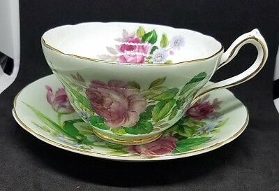 Antique Royal Stewart Cup And Saucer
