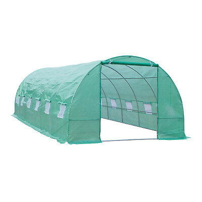 Outsunny 9.84 Ft. W x 26.25 Ft. D Commercial Greenhouse