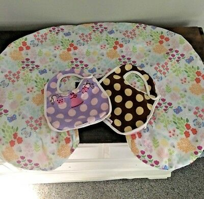 ***lot Of Various Baby Girl Items>You Pick Items<Bibs**boppy Cover**excellent***