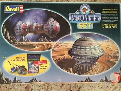Perry Rhodan Revell 05747 -- Sonderedition -- Spaceship Sol + Marco Polo + Buch