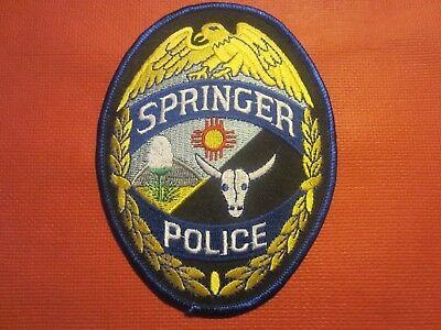 Collectible New Mexico Police Patch,Springer,New
