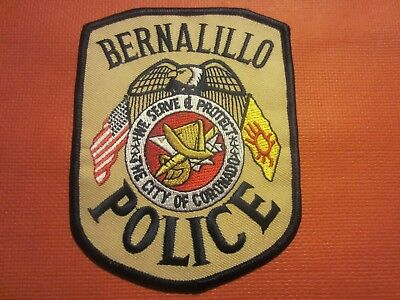 Collectible New Mexico Police Patch,Bernalillo,New