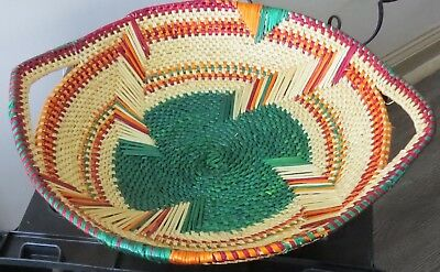Fair Trade African Handwoven Fruit Vegetable Tray