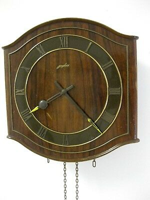 JUNGHANS Vintage German Design Wall Clock Retro Mid Century Parts or Repair