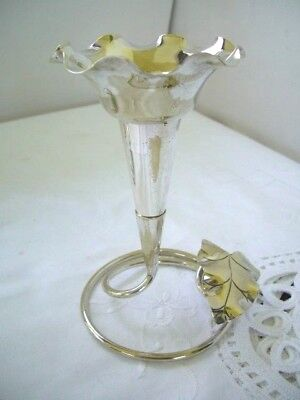 Vintage Silver Art Nouveau Style- Plated Epergne  EPNS Pearce and Sons