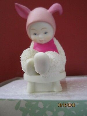 "Department 56 Snowbabies ""I CAN BE BRAVE WITH POOH""  NIB Adorable"