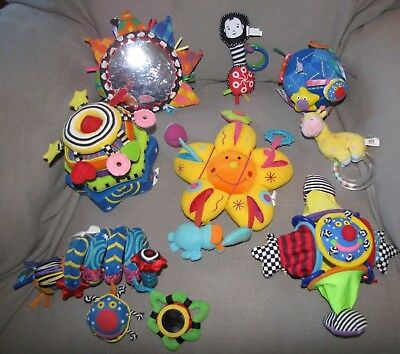 Rare Vintage Manhattan Toy Baby Developmental Whoozit Ball Rattle You Pick One