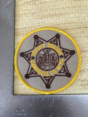 Campbell County Wyoming Sheriffs Department Police Patch Wy