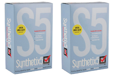 2 x Synthetix5 Negative Control Solution for Drug of Abuse Urine Test Devices