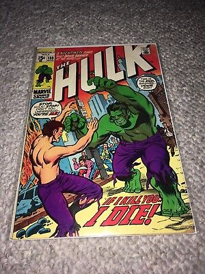 MARVEL 1970 THE INCREDIBLE HULK #130 - Very Good Condition