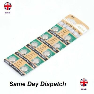 AG10 x 20 Pcs GP189 SR54 LR1130 L1131 1.5V Alkaline Button Cell Battery soda UK