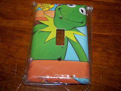 Muppets Kermit The Frog Light Switch Plate