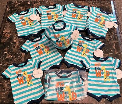 Lot Of 50   Nwt Koalababy  Baby Romper -One Piece Clothing    6 To 9 Month